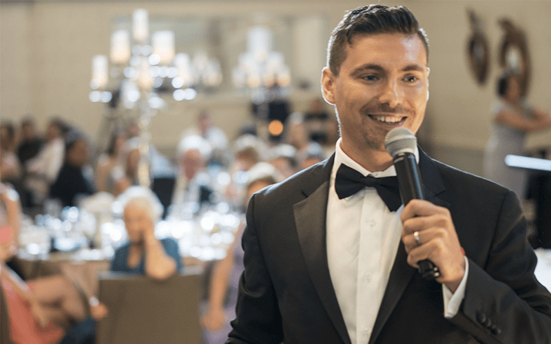 Sydney MC Jeremiah Hartmann | Live Events and Weddings MC